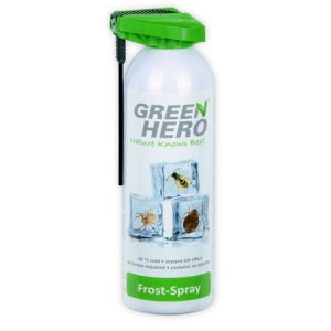 green hero frost spray